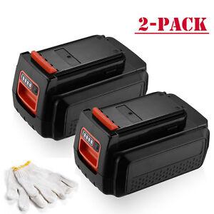 2-Pack-For-Black-amp-Decker-LBX2040-LBXR36-40V-2-5Ah-MAX-Lithium-Ion-Battery
