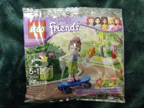 LEGO Friends 30101-28pcs Brand New! Mia Minifigure - Skateboarder