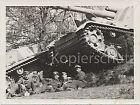 Soldaten bei der Pause Jagdpanzer Nashorn (Hornisse) Foto Bild WK2 10x14cm