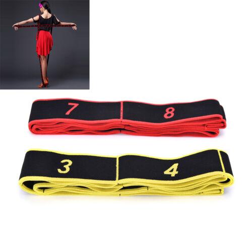 Gymnastics Training Band Pilates Yoga Stretch Resistance Band Fitness Elastic P*