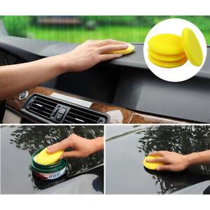 12pcs-Car-Wax-Polish-Foam-Sponge-Vehicle-Hand-Soft-Wax-Yellow-Sponge-Pad-Buffer