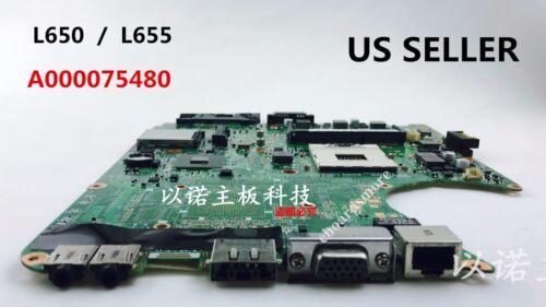 """Toshiba Satellite L650 L655 Intel Motherboard,A000075480,DA0BL6MB6F0,US Loc /""""A/"""""""