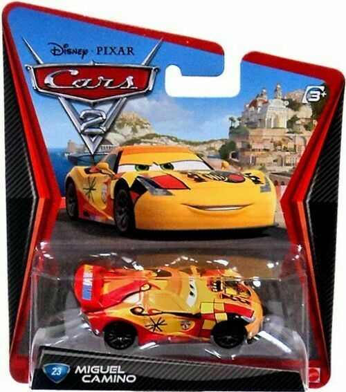 2011 Mattel Disney Pixar Cars 2 Miguel Camino For Sale Online Ebay