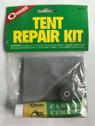 Coghlan La Tente De Kit Réparation 703 Tente Matériau Nylon Fenêtre écran Bobine Fil NEE