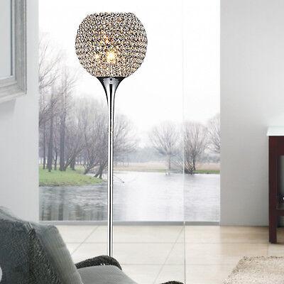 Floor Lamp Gold Silver Chrome