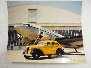 Coronel-Jay-1943-Douglas-DC-3-Norton-Afb-Color-Foto-20-3cm-x-25-4cm