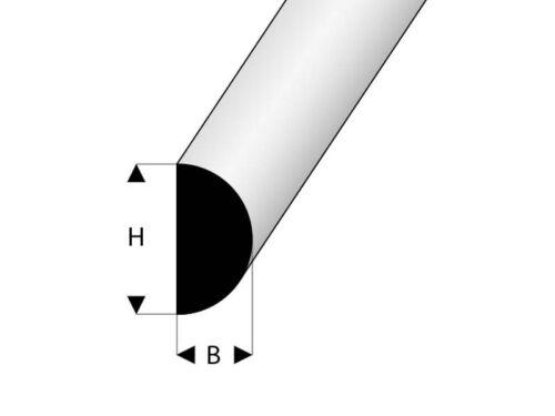 Krick carrelage 5x4x2000mm anodisé #63252