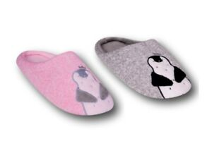 Girls Children Warm Soft Light Winter Fluffy Slippers Doggy Size 9 Kids to 2 UK