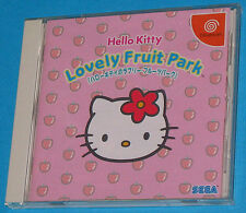 Hello Kitty Lovely Fruit Park - Sega Dreamcast DC - JAP