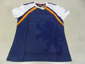 1434-LOTTO-TAILLE-L-HOLLANDE-DUTCH-MAILLOT-TEE-SHIRT-JERSEY-HAUT-NEDERLAND