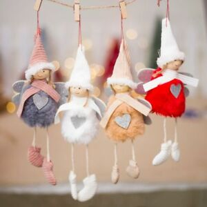 Christmas-Angel-Plush-Doll-Toy-Christmas-Tree-Pendants-Ornaments-Home-Decoration