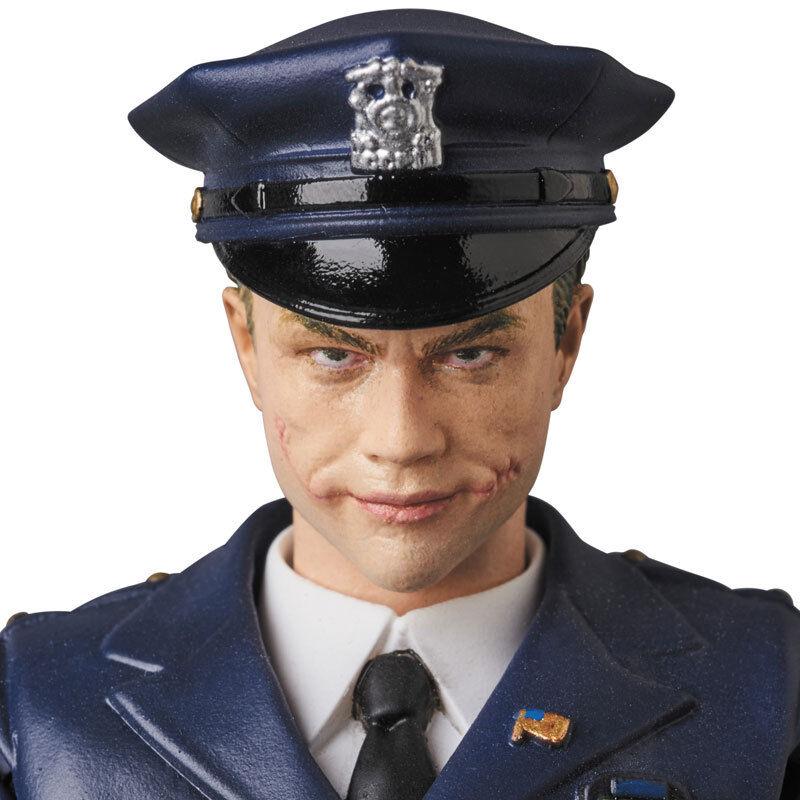 MAFEX 062 MAFEX THE JOKER (Cop Ver.) THE DARK KNIGHT Medicom Toy Japan NEW