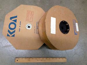 20 Ohm 1/4W 5% (Reel of 5000 pcs) Carbon Film Resistor NOS - 20 Ohm 1/4 Watt