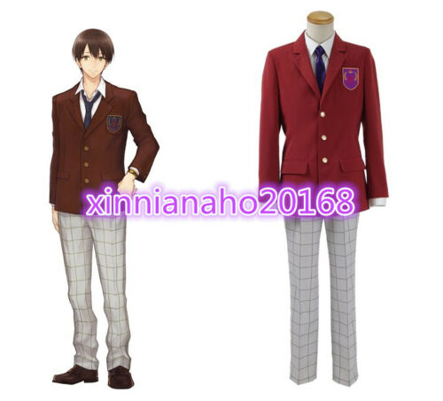 New!Sanrio Boys Sanrio Danshi Clothing Cos Cloth Uniform Cosplay Costume
