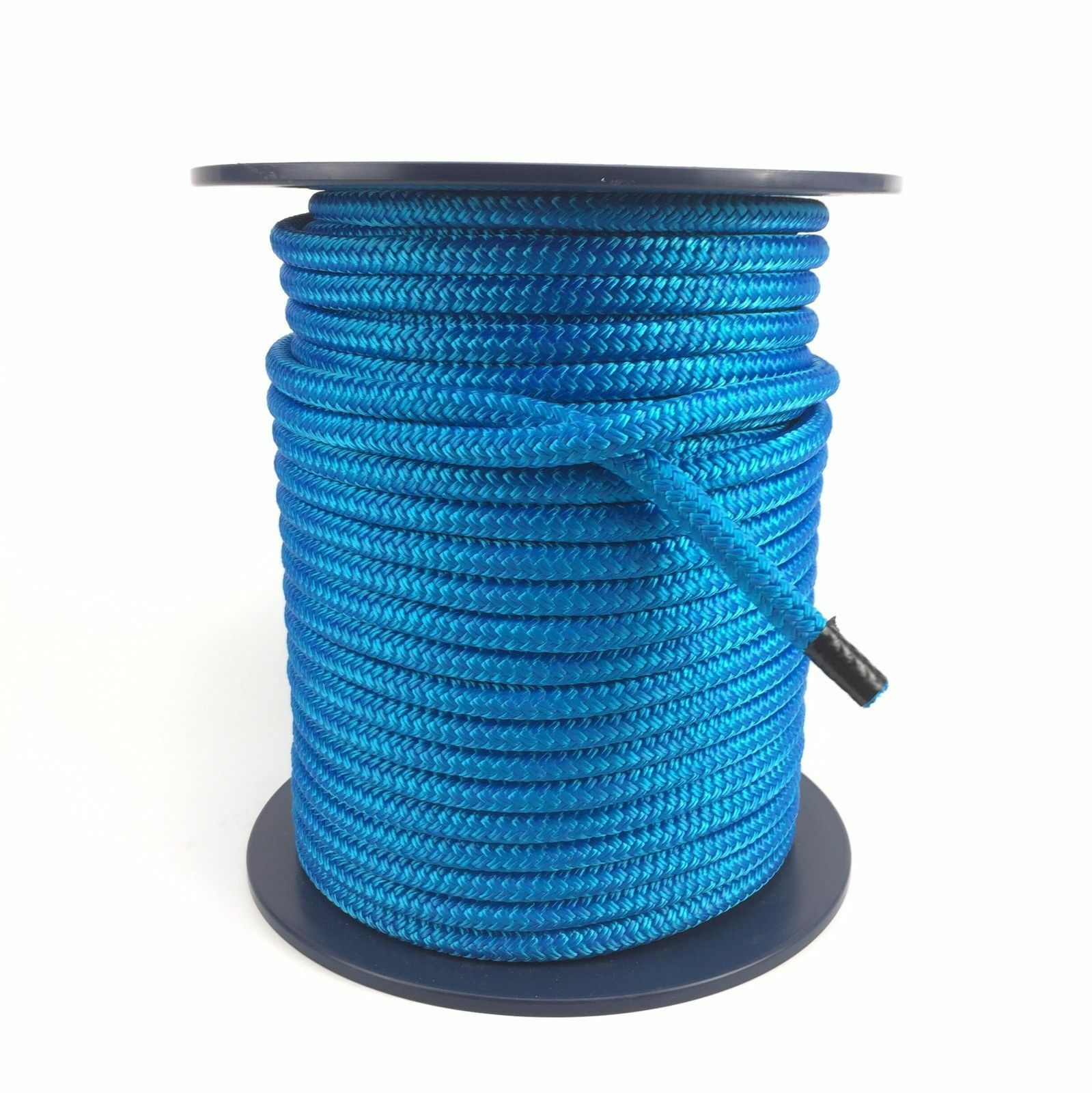 8mm Royal bluee Double Braid On Braid Polyester Rope x 40 Metres, Marine, Boats