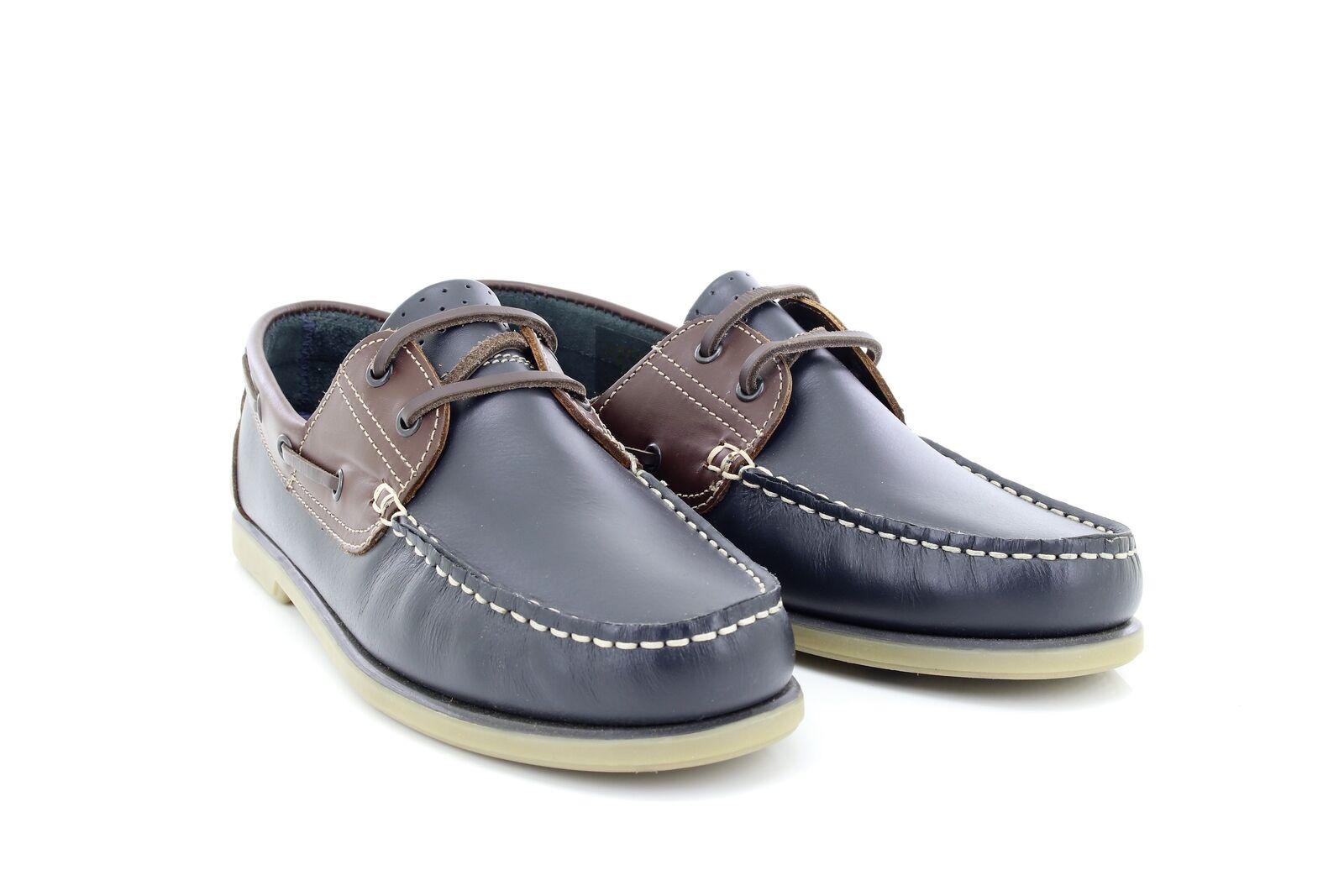 Mens Dek M551 Smart Leather Moccasin Boat zapatos