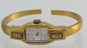 Vintage-Zeoih-Antimagnetic-Damen-Armbanduhr-Handaufzug