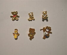 Teddy bear pins collection inc '80 olympic, smiley face angel, Canco cat 6 total