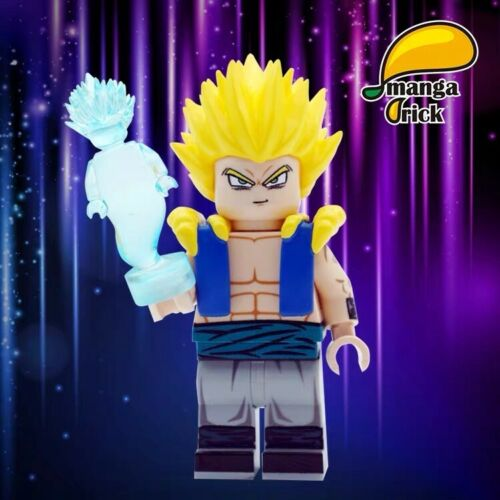 ⎡MANGA BRICK⎦ Pre-order Custom Dragon Ball Gotenks Lego Minifigure