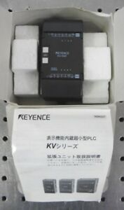 Details about C157132 Keyence KV-E8R PLC Expansion Unit w/ Manual