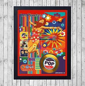 LOS-PLANETAS-POP-CUADRO-CON-GOLD-O-PLATINUM-CD-EDICION-LIMITADA-FRAMED