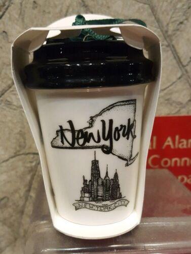 2017 Starbucks State Christmas Ornament mini Tumbler MO PA CO IN OH NJ NY SC CA+