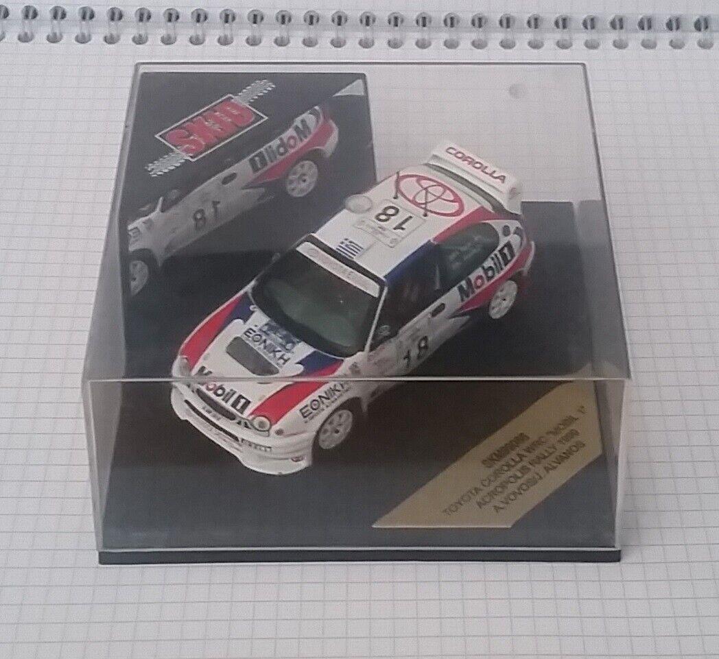 Skid SKM99086 Toyota Cgoldlla WRC Acropolis Rally 1999 Vovos 1 43 MiB LE 1500
