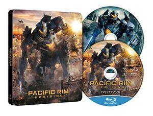 Pacific-Rim-levantamiento-Primera-Edicion-Limitada-DVD-Blu-ray-Steelbook-Japon-Nuevo