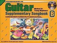 Brillant Progressive Guitar Young Beg Supp Répertoire B + Cd-afficher Le Titre D'origine