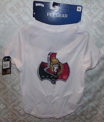 Pet Gear Nhl Ottowa Senators Cane Jerseyshirt Xl Nuovo Hockey