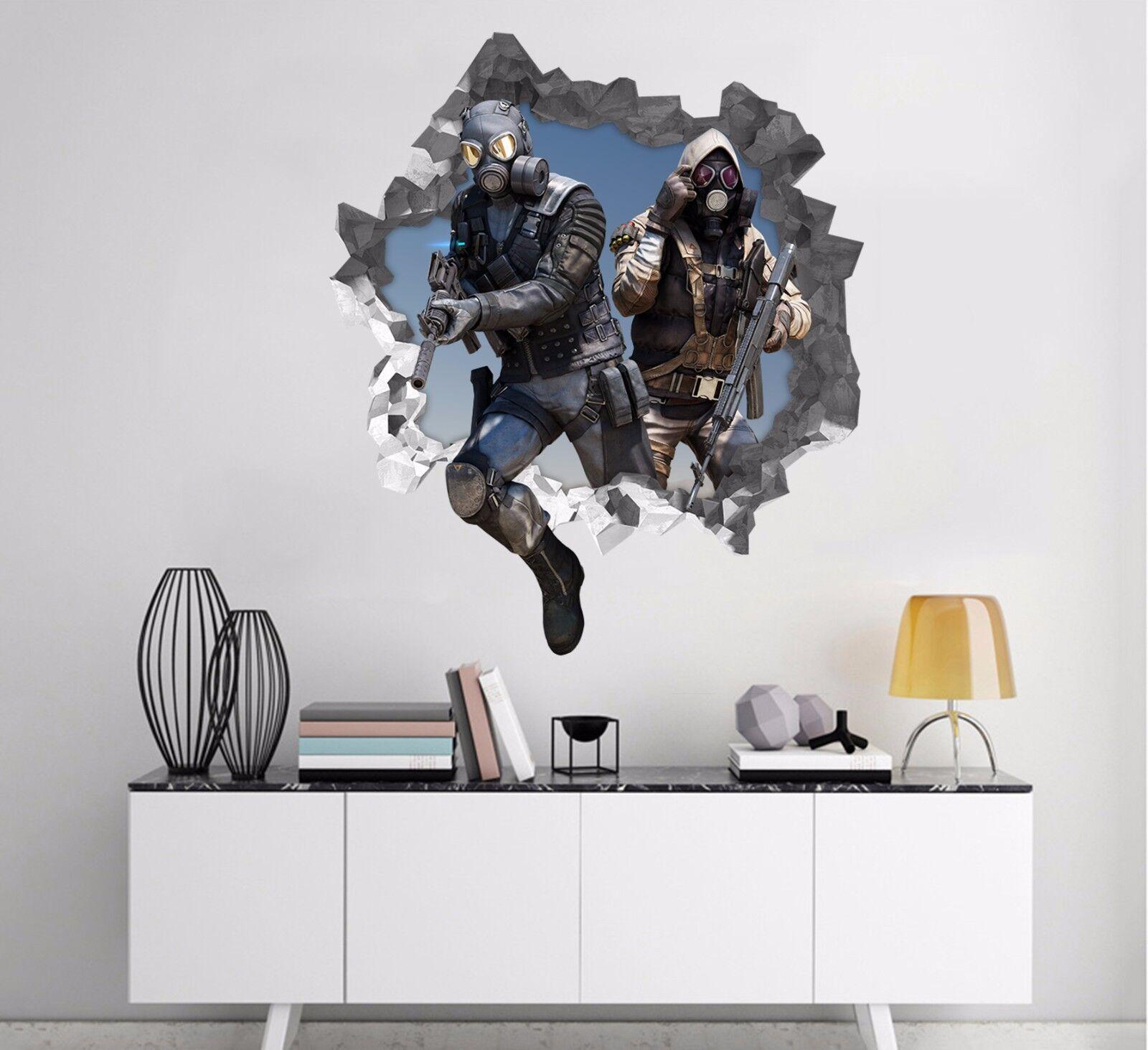 3D Kühle Krieger 94 Mauer Murals Mauer Aufklebe Decal Durchbruch AJ WALLPAPER DE