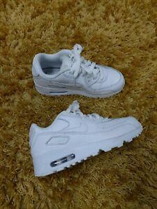 Older Girls Boys Triple White Nike Air