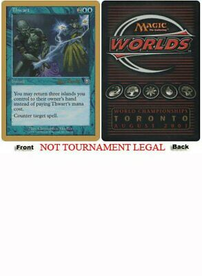 Alex Borteh - 2001 World Championship NM CARD ABUGames Waterfront Bouncer