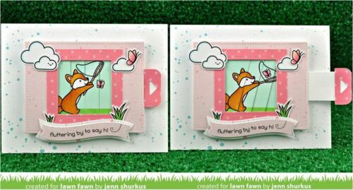 1904 1903 Lawn Fawn Die Set Combo ~ MAGIC PICTURE CHANGER /& ADD-ON Interactive