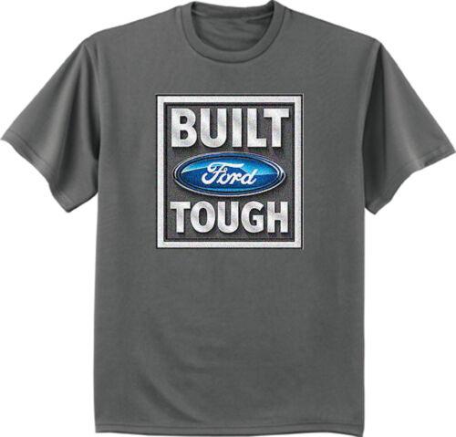 men/'s big and tall t-shirt Built Ford Tough sign tall shirt for men