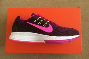 buy popular b39ee 15ce1 Details about Womens Nike Air Zoom Structure 18 Trainers Running Gym Yoga  Pink Ltd Edition£100