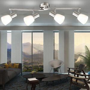 Details zu Leuchte Decken Lampe Wohnzimmer Beleuchtung modern  Deckenstrahler 4-flammig edel