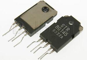 4pcs STR80145 Original New Sanken IC STR-80145