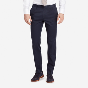 NWT Stretch Weekday Warrior Monday bluees Athletic Fit Pants by Bonobos, 33 X 30