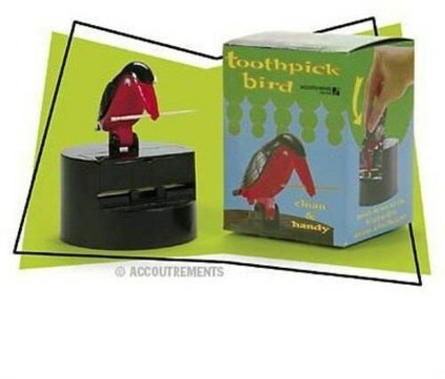 Accoutraments Bird Toothpick Dispenser Gag Gift Handy Clean Teeth for sale online | eBay