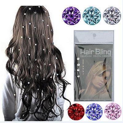 1PCS Crystal Flower Mini Hair Claw Clamp Hair Clip Hair Pin Accessory