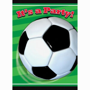 Sports 3d soccer invitations 8 birthday party supplies image is loading sports 3d soccer invitations 8 birthday party supplies filmwisefo