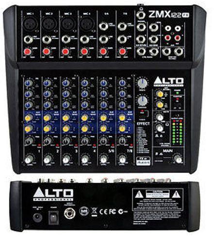 Mixer ALTO mod. ZEPHYR ZMX122FX    8 canali (4 mono + 2 stereo)