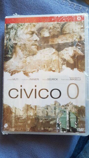 DVD Civico 0 (2007) DVD NUOVO SIGILLATO-RARO + LIBRO