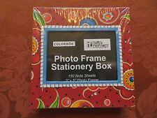 "Mary Engelbreit Photo Frame Stationery  150 Note Sheets 3"" x 5"" Photo Frame New"