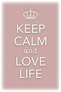 Keep-Calm-and-Love-Life-Tin-Sign-Shield-Arched-Tin-Sign-20-x-30-cm-CC0490