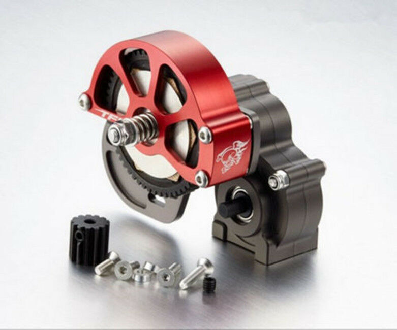 CNC Alloy Gearbox Housing Assembly Steel   POM for Axial SCX10 RA Car