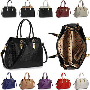 1ea194197e Image is loading New-Ladies-Patent-Leather-Handbag-Tote-Womens-Shoulder-