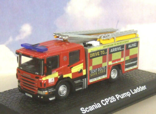 Autos Atlas Oxford 1/76 Scania Cp28 Pumpe Leiter Motor Hertfordshire