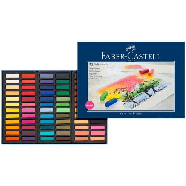 Faber Castell : Square Soft Pastel : Half Stick : Set of 72